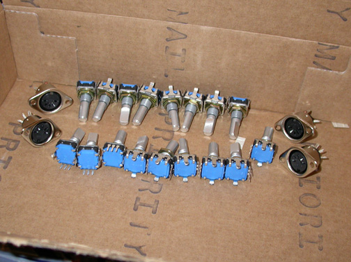 First batch of rotary encoders