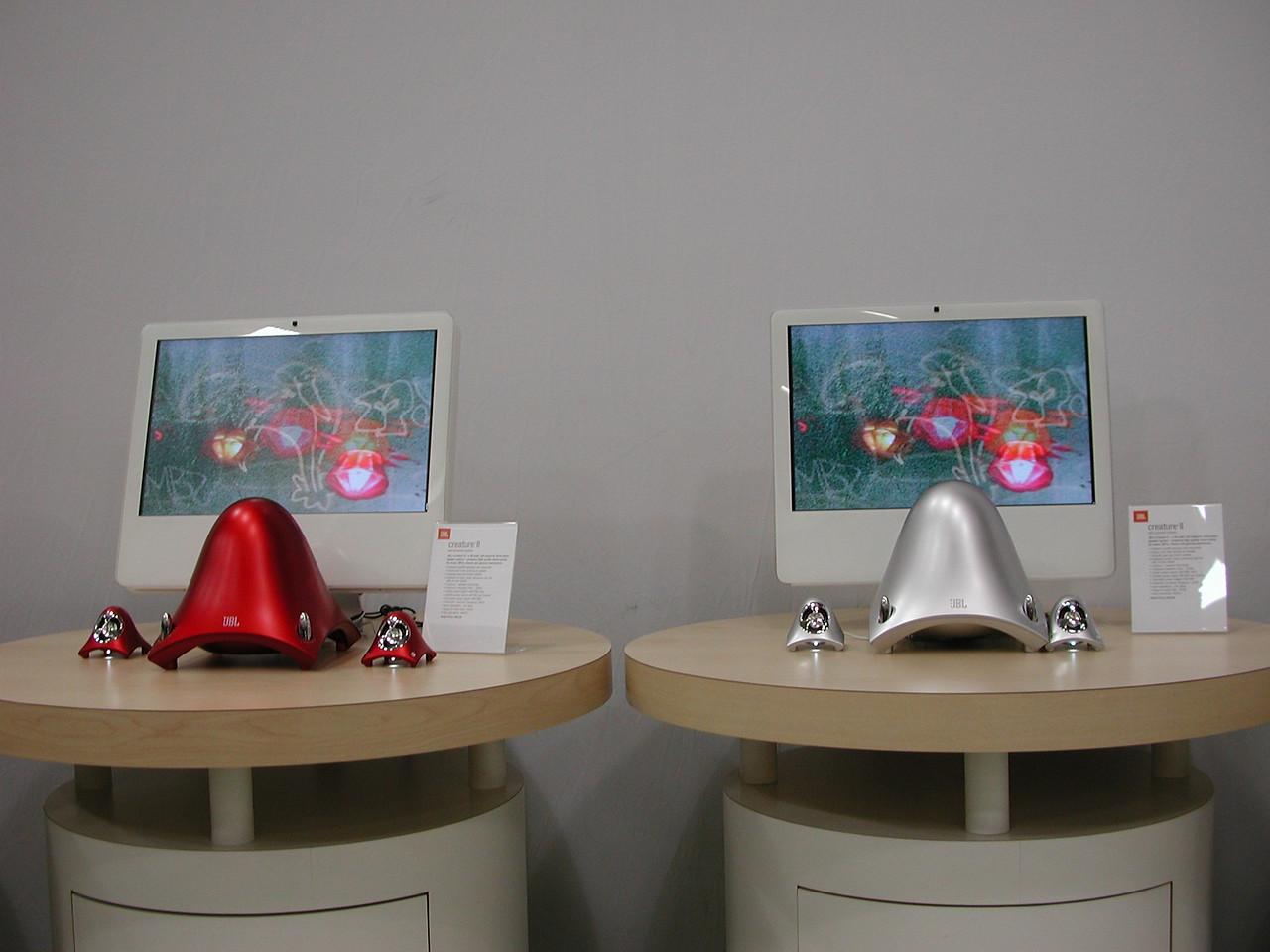 External speaker systems