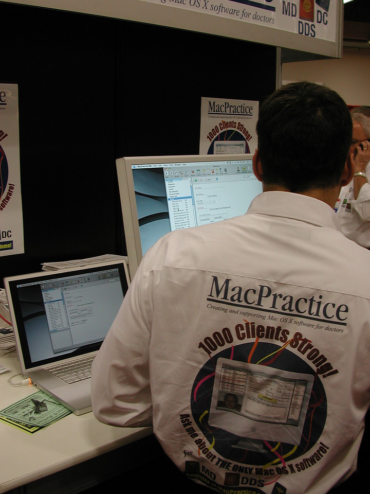 MacPractice, for medical, dental, and similar practices