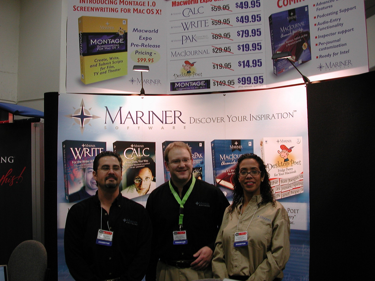 Mariner Software crew.