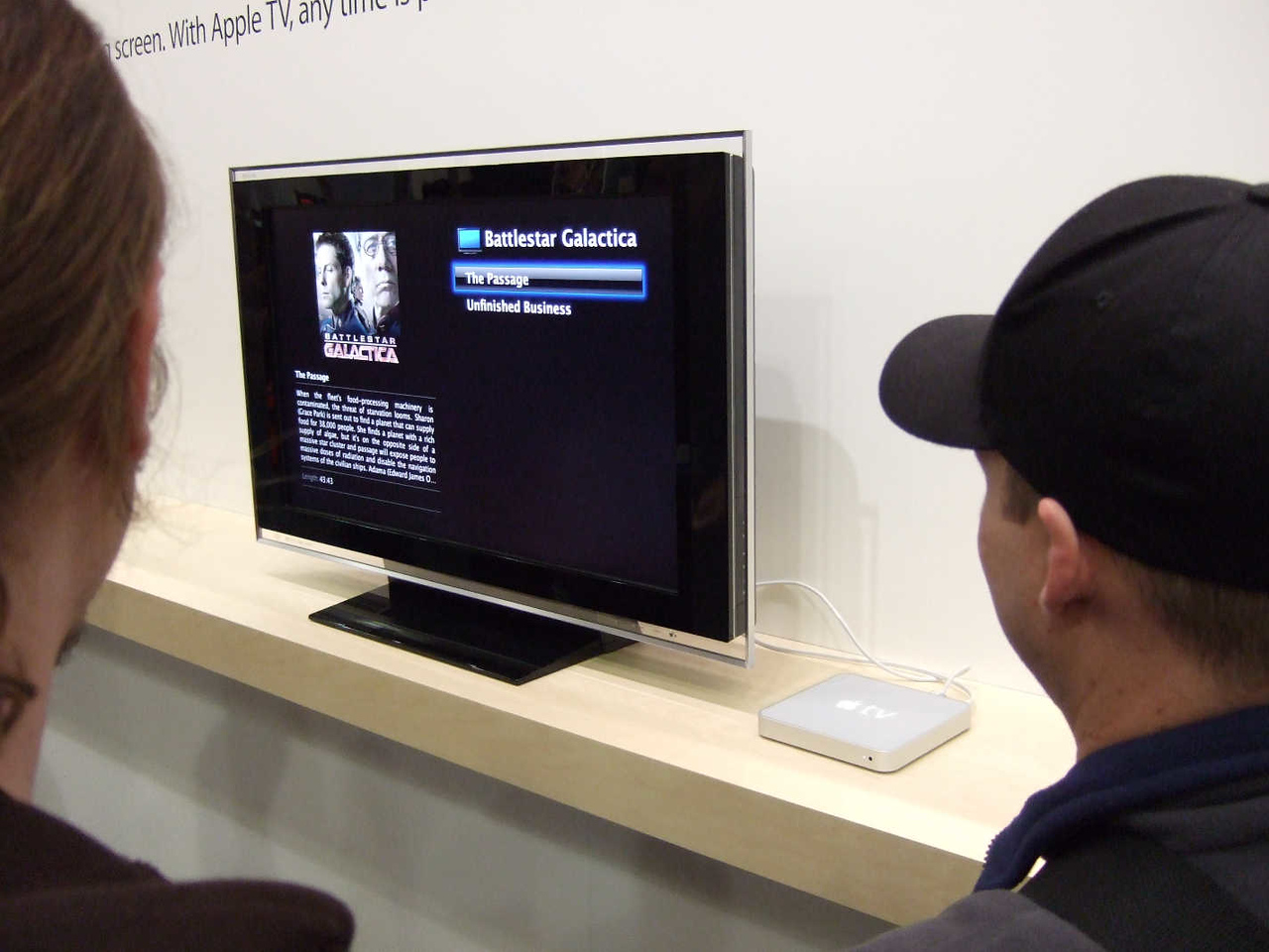 Another view of cinema as seen on Apple's display.