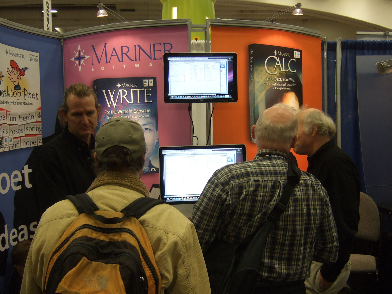 Marinersoft was at Macworld.