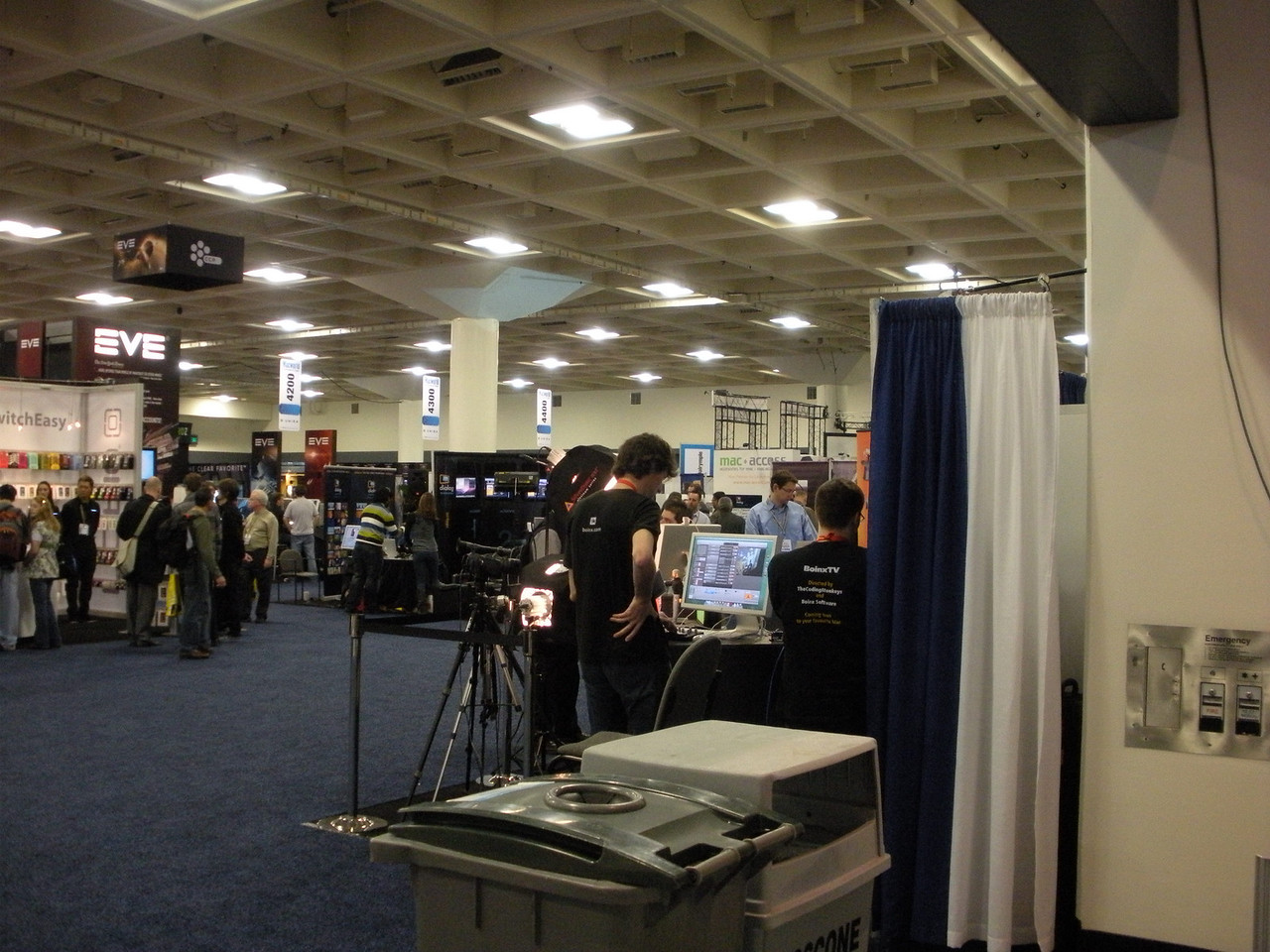 The Boinx booth.