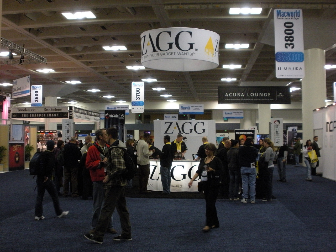 Zagg at Macworld 2009