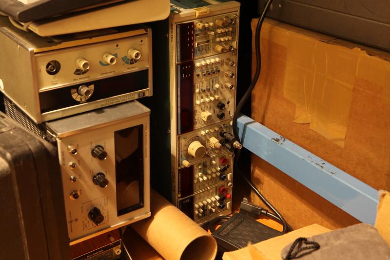 Tektronix TM-500 plug in gear
