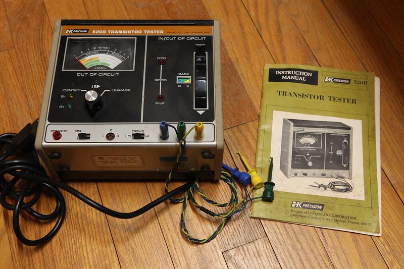 B&K Precision 520B Transistor Tester