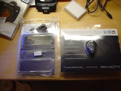 Nextlink AX bluetooth headset