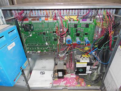 Otis Hydraulic Elevator Control Room