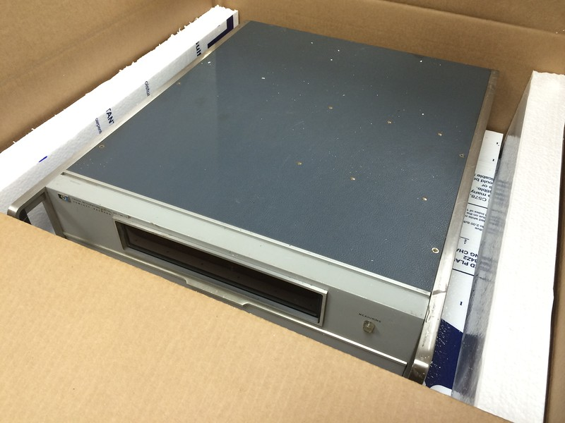Boxing and shipping HP 5360A and  2402A