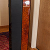 It's a little odd what you find in the hallway at the Audio Fest.  Love the wood...