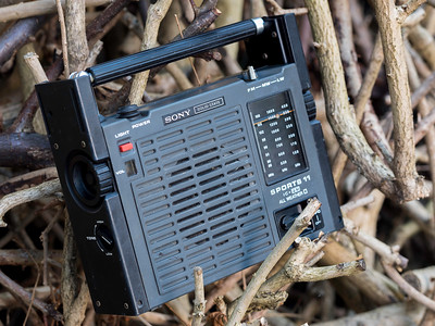 Sony Sports 11 All Weather Portable Radio