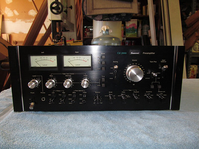 Front view of CA-3000.
