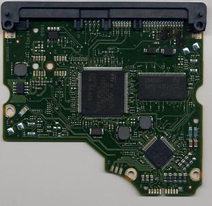 Seagate 7200.12 Burnt PCB