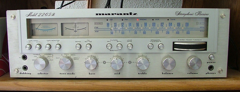 This is my 1978 Marantz 2265B. Still sound good after all the years.