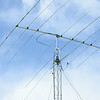 The World Radio Championships will be held at Sholan Farms in Leominster on Saturday afternoon. Volunteers sent up a tent and radio tower on Thursday afternoon. SENTINEL & ENTERPRISE / Ashley Green