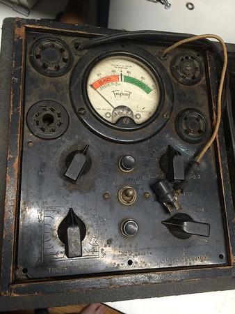Triplett Model 1210 Tube Tester