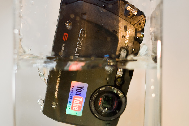 This camera actually likes to be underwater...