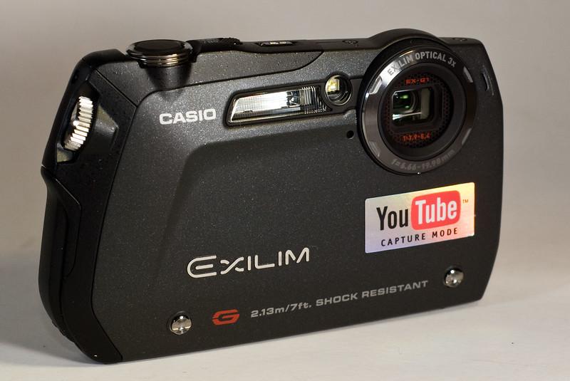 Slim, trim, and a bit of a looker: Casio's Exilim EX-G1.