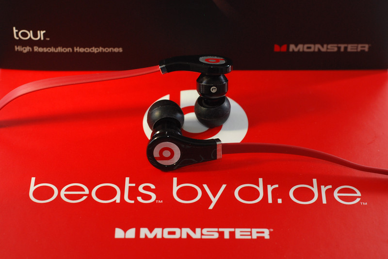"Meet the mini Monsters: Dr. Dre's new in-ear ""high resolution headphones."""
