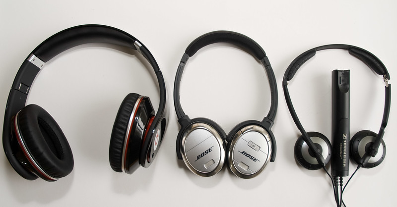 New Monster on the block: Dr. Dre meets Bose quiet comfort 3 and Sennheiser PXC 250.