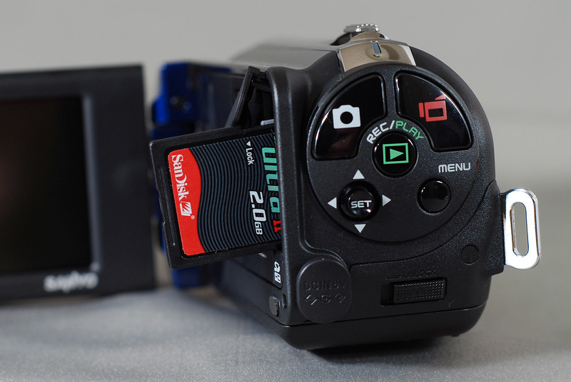 Fast SD cards are a must with an HD cam. Otherwise you might face data hiccups.