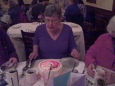 Linda's Birthday/Retirement Dinner Movie 19 November 2011