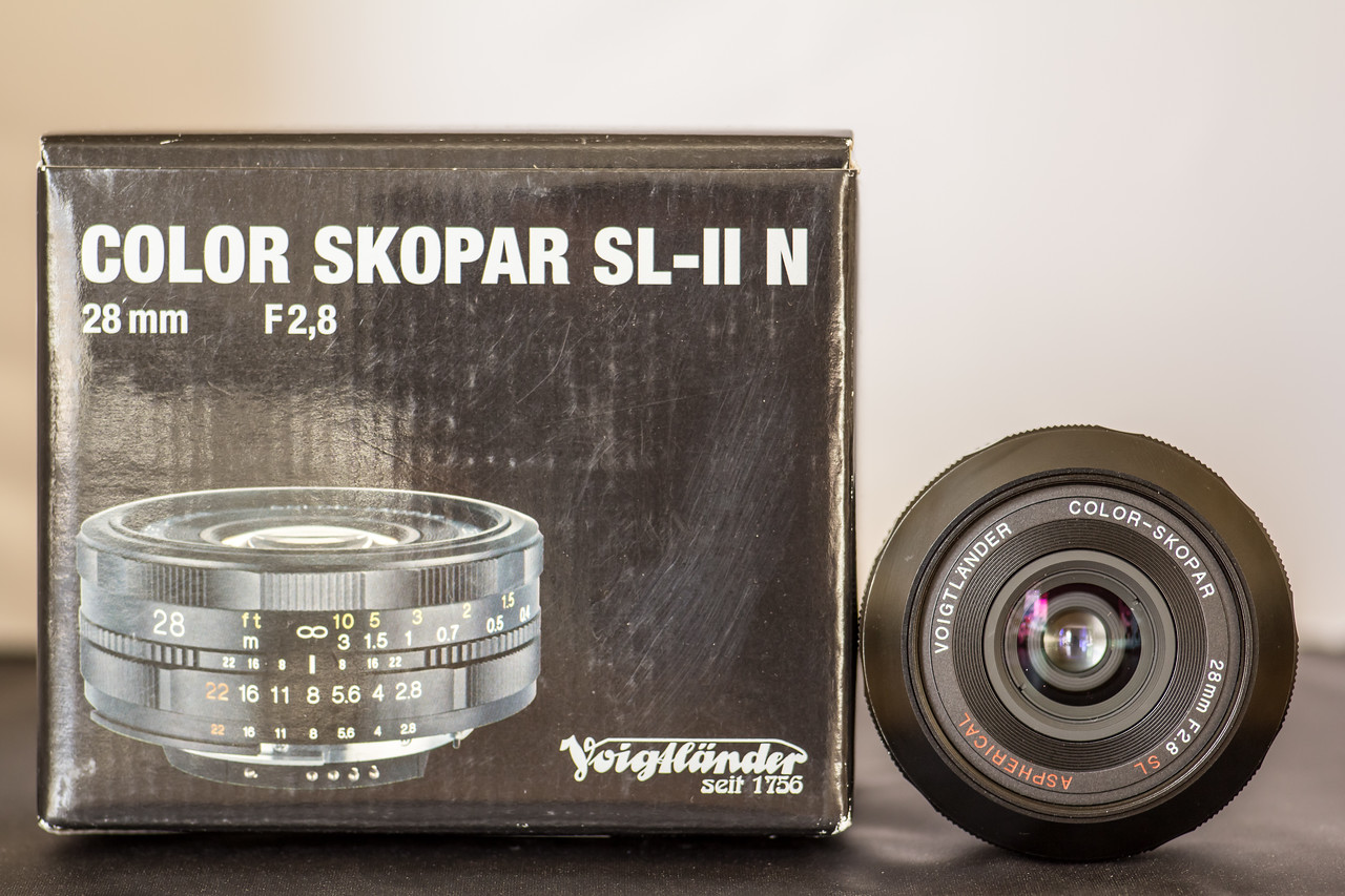 Voightländer 28mm F2,8 Color Skopar SL-II N