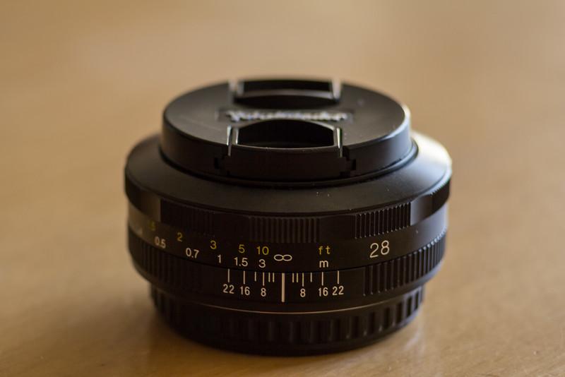 Voightländer 28mm F2,8 Color Skopar SL-II N