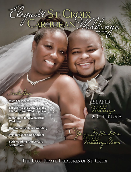 2014 Elegant St. Croix Caribbean Weddings  Magazine