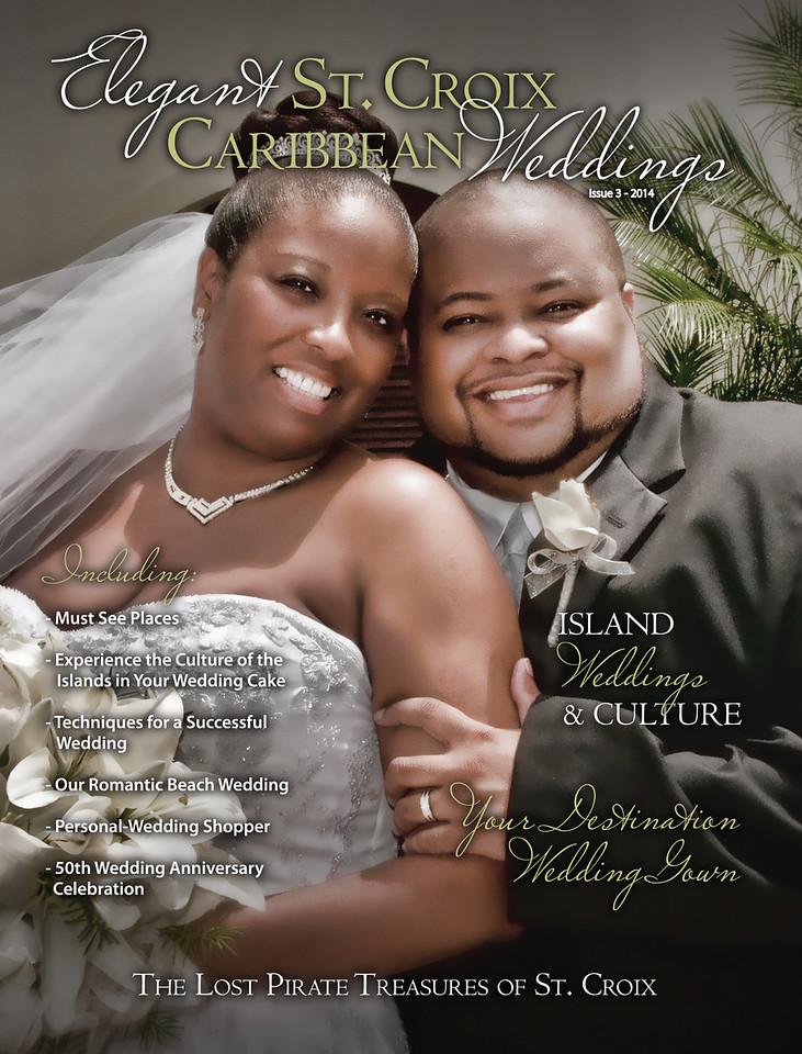 2014 Elegant St. Croix Caribbean Weddings  Magazine
