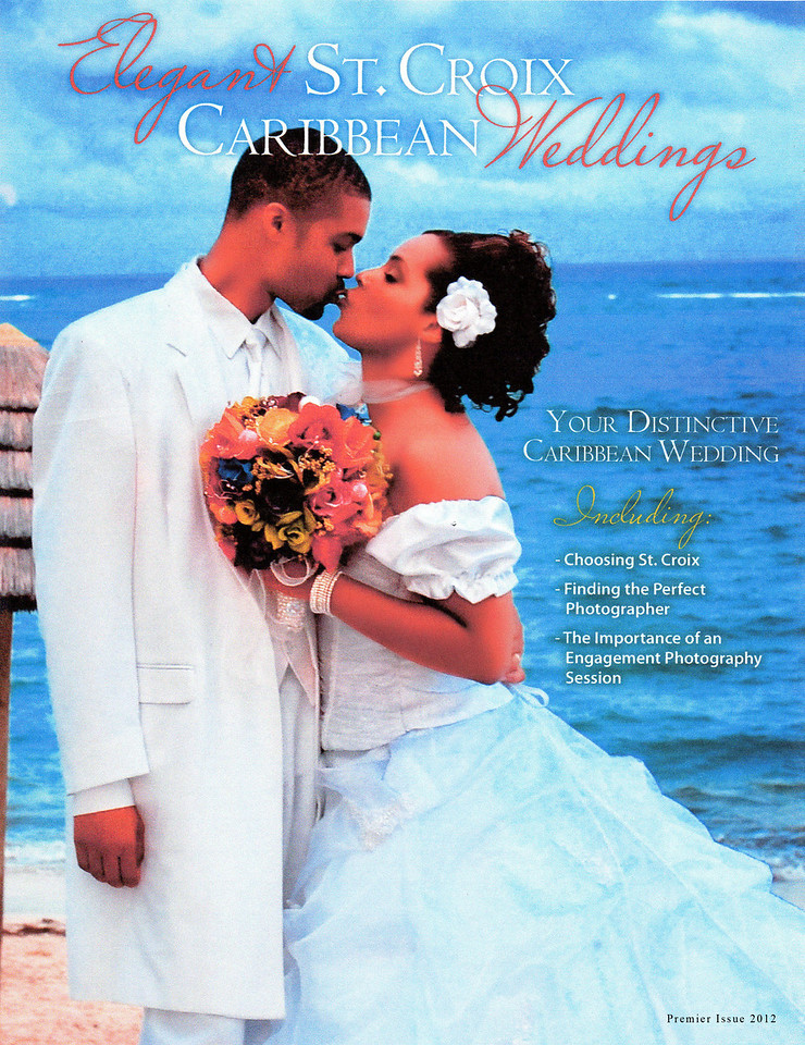 2012 Elegant St. Croix Caribbean Weddings  Magazine