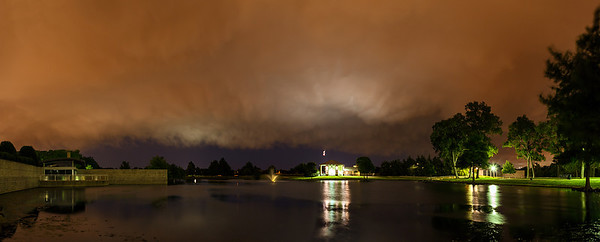 """The Back Side""  Allen, TX Technical Details: Shot with Canon 6d and Canon 24-105mm lens at F8 and .5 seconds.    Panorama created from 10  vertical shots."