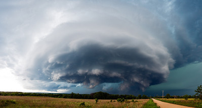 """""""Synchronicity""""  Central Oklahoma Technical Details: Shot with Canon 6d and Canon 24-105mm lens at F8 and 1/200.    Panorama created from 10  vertical shots."""