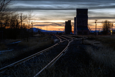 """End of the Line""  Ulm, Montana Technical Details: Shot with Canon 6D and Canon 24-105L lens at F16 and 1 second."