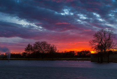 """Day's End""  Allen, TX Technical Details: Shot with Canon 6D and Canon 24-105L lens at F16 and 1 seconds."