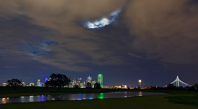 """Under the Moon Light""  Dallas, TX  Technical Details: Shot with Canon 5d MK2 and Canon 24-70mm lens."