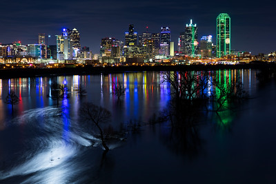 Dallas Moonset