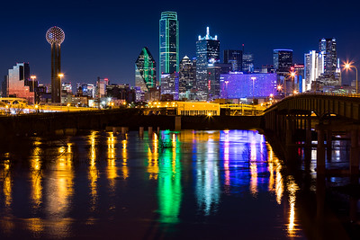 Dallas Blue Hour