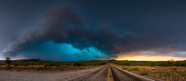 """Fire and Ice""  Scheffield, TX Technical Details: Shot with Canon 6d and Canon 24-105L lens.  Panorama stitched from 8 vertical shots."