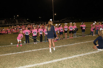 Elementary Cheerleaders 093016