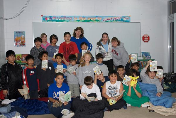 Boy's Read-in Jan. 14 & 15, 2011