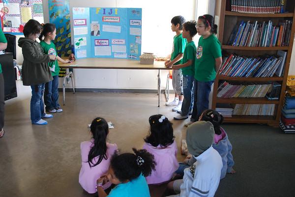 Elementary Culture Fair, March 12, 2009