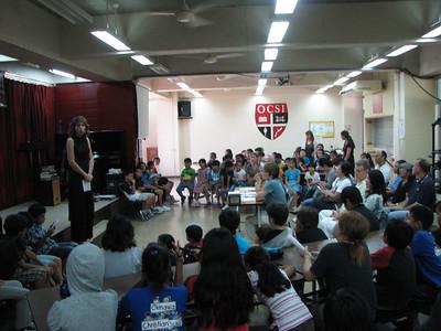 Upper Elementary Speech Contest