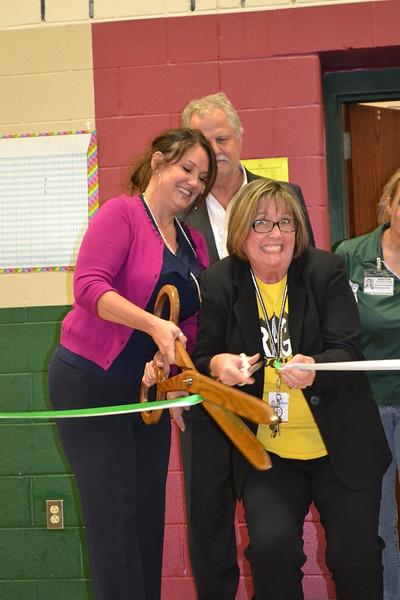 Daulton Elementary 2015 'Outdoor Classroom' Dedication