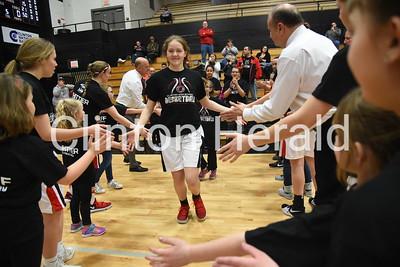 Elementary night at Clinton basketball 1-30-18