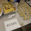 Food samples from various countries.