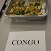 Tray of food native to the Congo.