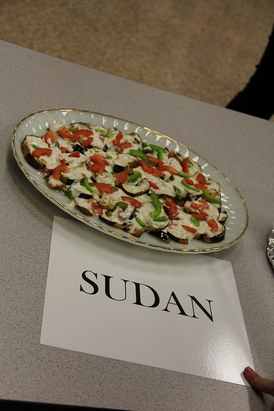 Plate of food native to Sudan.