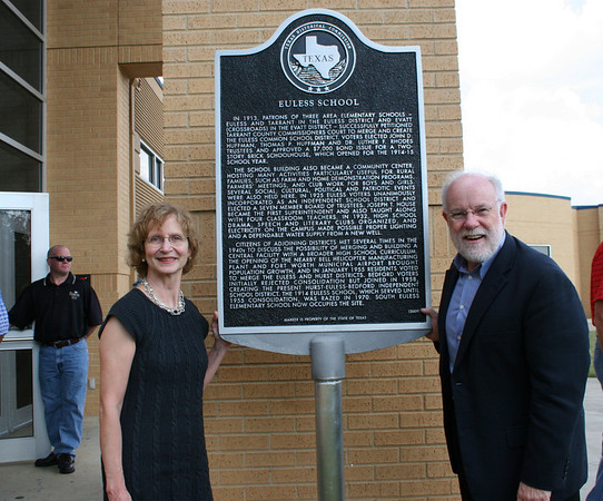 South Euless Receives State Historical Marker (October 2010)