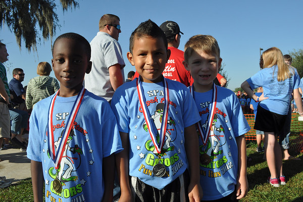 SFA Fun Run Winners 2012